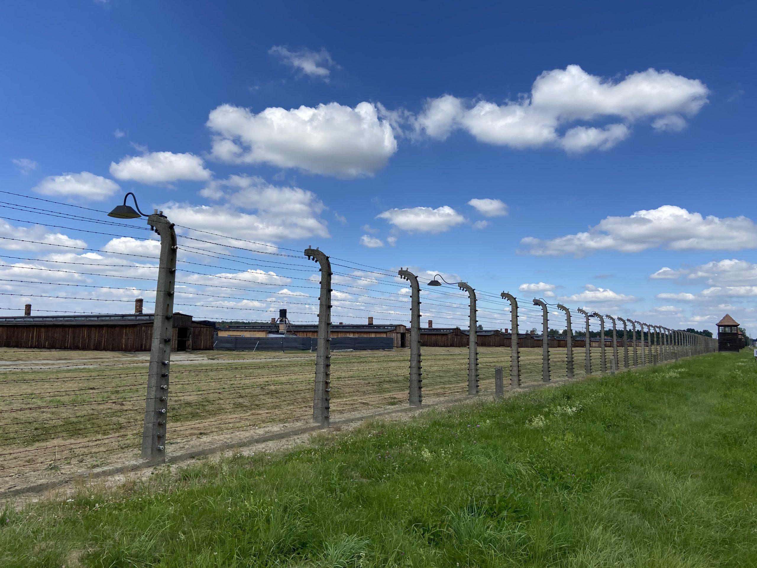 Ehemaliges deutsches Vernichtungslager Auschwitz-Birkenau