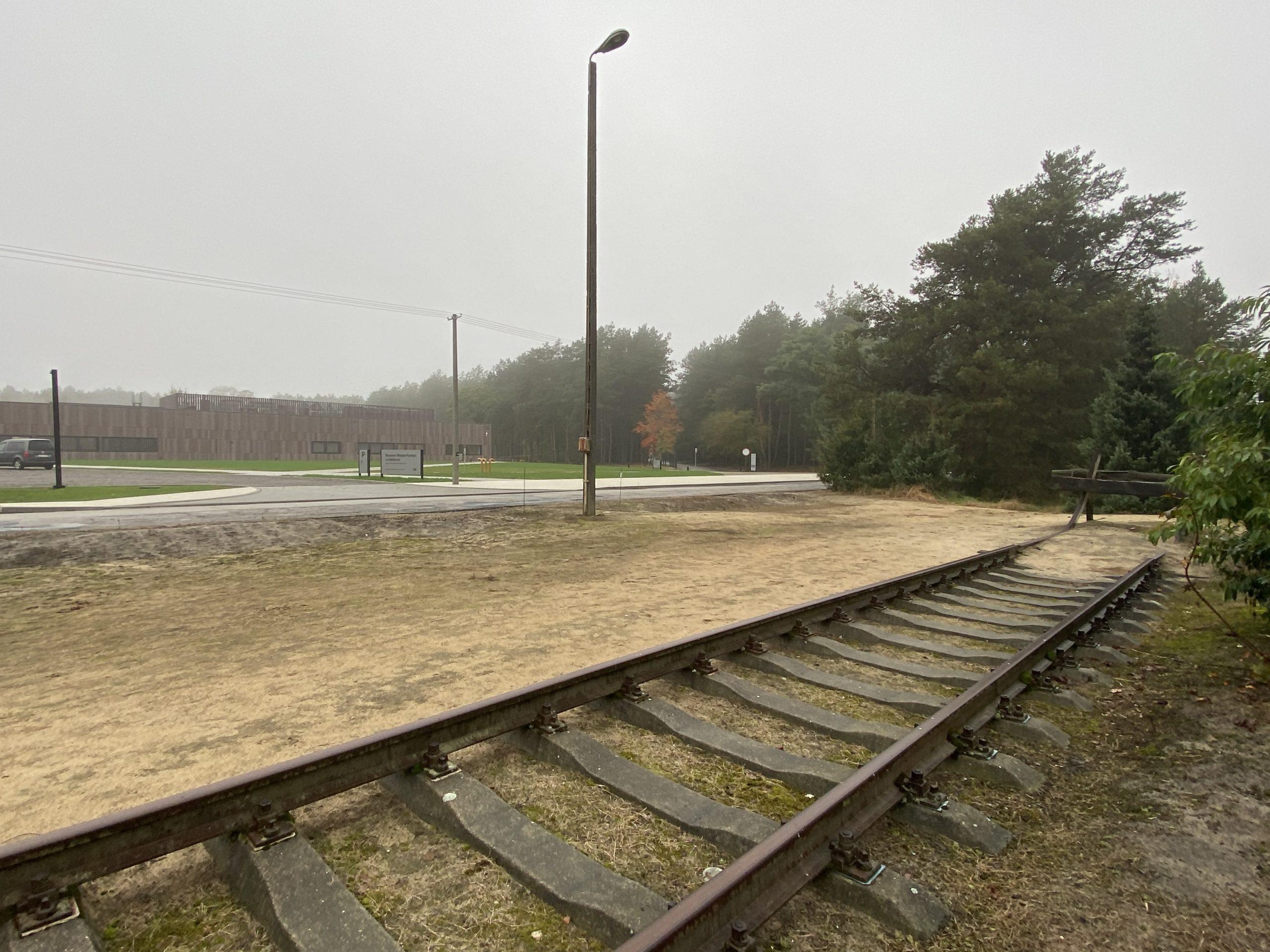 Gleise am ehemaligen deutschen Vernichtungslager Sobibor